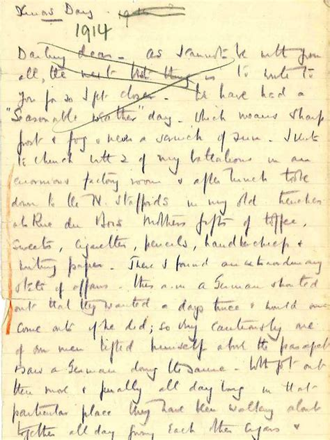 song of myself section 52 first world war letter on christmas day truce displayed at