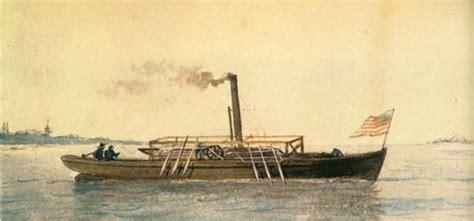 barco a vapor historia john fitch y su barco de vapor historia la revista