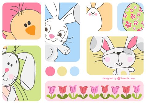 how to make your doodle jump a bunny doodle easter bunny vector cards 123freevectors