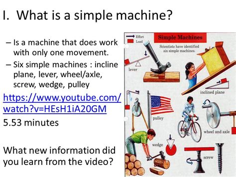 in the machine age only one type of organization will thrive a i can identify six types of simple machines ppt download
