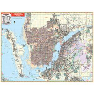 map of cape coral florida cape coral fl wall map keith map service inc