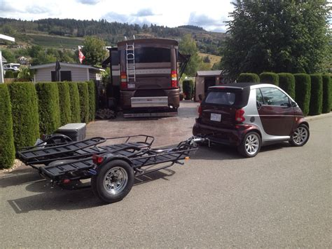 How Much To Get Car Towed To A Garage by Rv Net Open Roads Forum Smart Car Towing Its Own Trailer