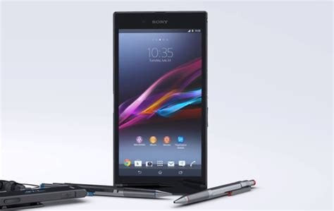 Hp Android Sony Z Ultra sony xperia z ultra official specs features and availability