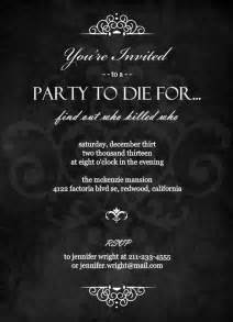 murder mystery invitation template 301 moved permanently