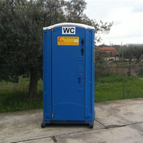 bagni portatili wc chimico bagno