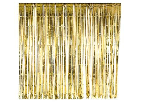 gold foil curtains gold foil curtain party city soozone