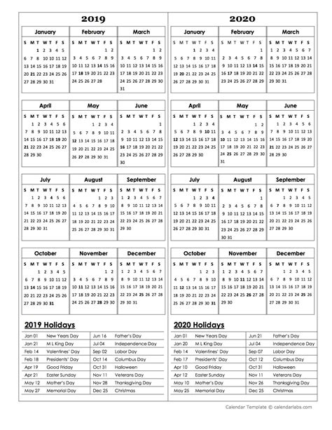 year calendar template     printable templates