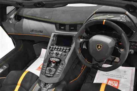 lamborghini aventador sv roadster 1 of 500 lamborghini 2016 aventador lp750 4 sv roadster 1 of 500 automatic