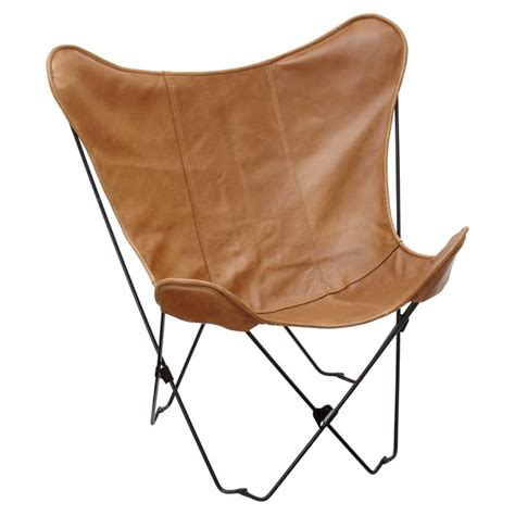 butterfly leather chair cb2 1938 tobacco leather butterfly chair copycatchic