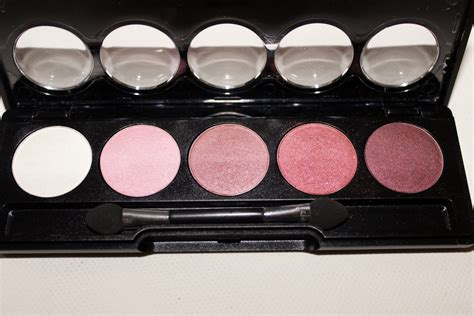 Review Eyeshadow Viva Pink flormar color palette eyeshadows review beautynook
