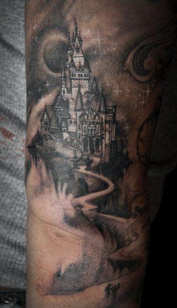 castle tattoos tattoos of castles and wizards castle