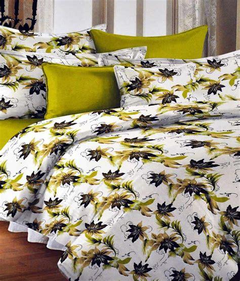 aastha home decor 3pcs bed sheet set green buy aastha