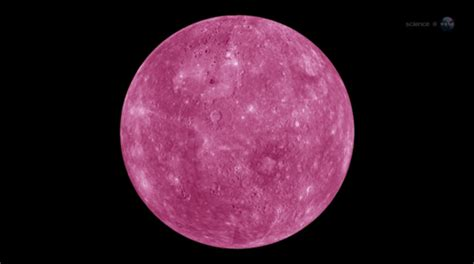 The Planet the planets pink planet mercury