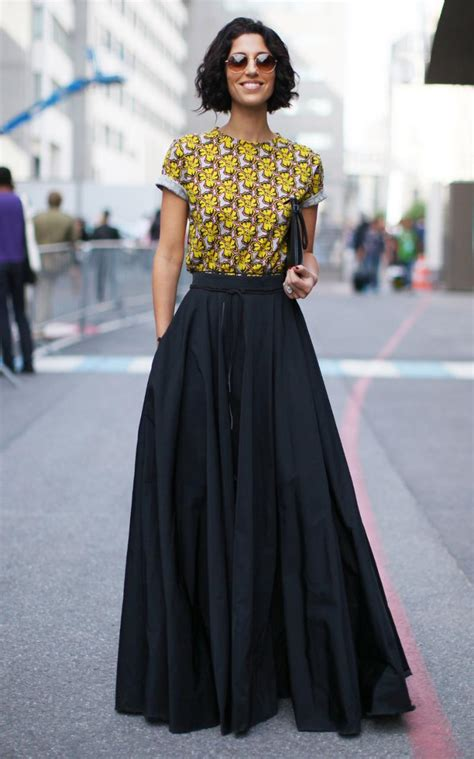 what to wear with a maxi skirt formal modern skirts