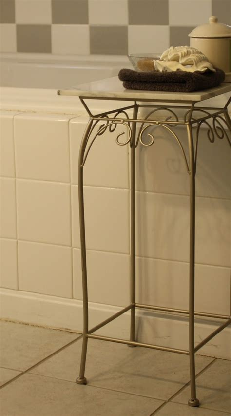 Bathroom Accent Tables by Stillwater Story Diy 20 Carrara Marble Accent Table