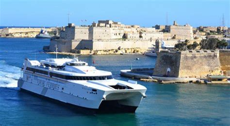 catamaran ferry malta how to travel by train ferry from london to malta gozo