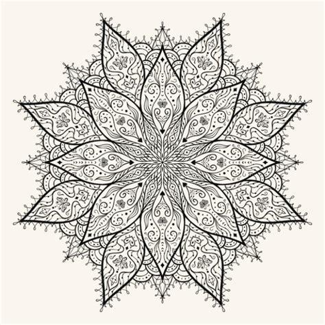 imagenes bonitas para dibujar dificiles mandalas para colorear las mandalas m 225 s hermosas para