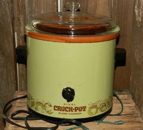 Rival Crock Pot by Vintage Rival Crock Pot Cooker 3 5qt By