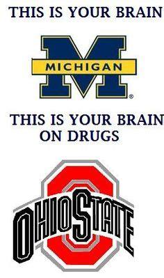 Ohio State Sucks Meme - go blue on pinterest michigan wolverines go blue and