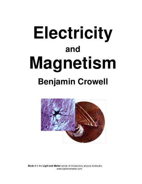 ebook pdf science physics electricity and magnetism