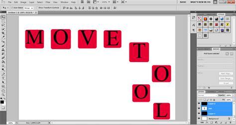 tutorial adobe photoshop adalah tutorial cara menggunakan move tool di adobe photoshop