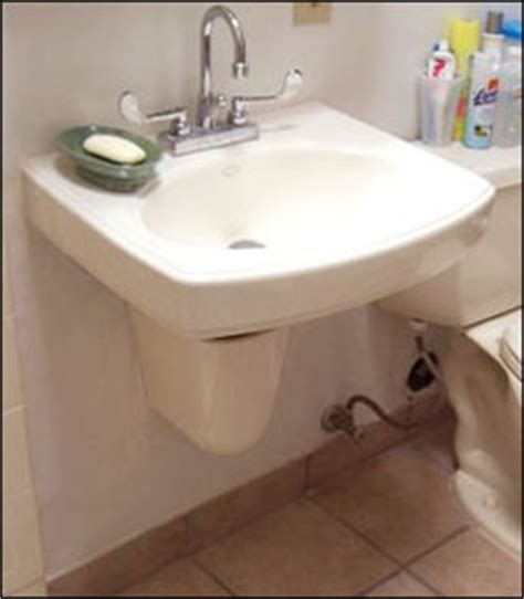 under sink pipe cover wall hung accessible sink with ceramic p trap cover