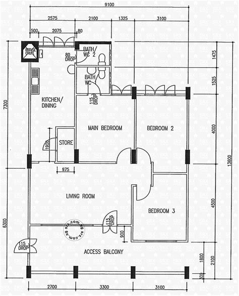 hdb floor plan floor plans for pasir ris drive 6 hdb details srx property