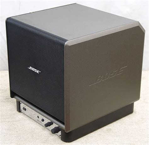 Speaker Bose 12 Inch Bose Sw 4 Powered Subwoofer Image 12 What S Inside