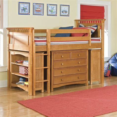 loft bed with storage bolton bennington low loft bed with storage