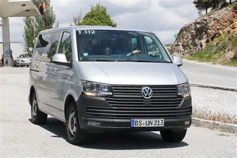 2019 Vw Transporter by Vw Transporter 2019 Facelift And Info