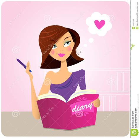 young woman writing diary or journal stock photos image