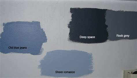 blue grey wall paint
