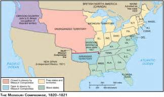 Map Of United States In 1820 by Google Images