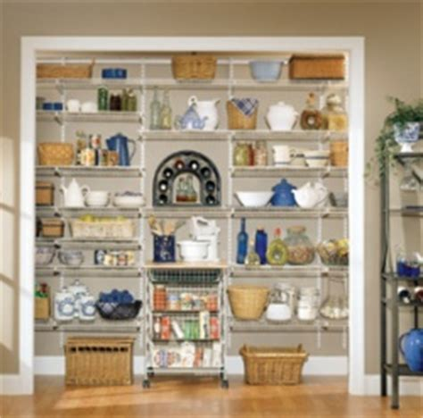 Design Your Own Pantry by Create Your Own Adjustable Shelftrack System