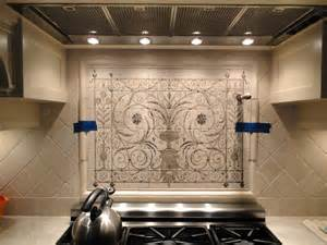 Hand Painted Tiles For Kitchen Backsplash hand painted tiles interior design contemporary tile design