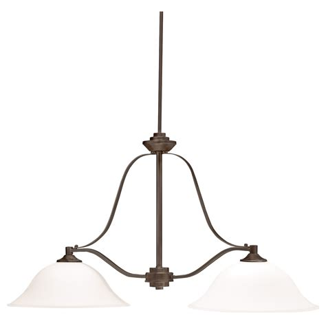 Kichler Island Light Kichler Two Light Olde Bronze Island Light Olde Bronze 3882oz From Langford Collection