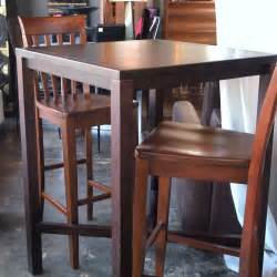 high top bar tables and stools 17 best ideas about high top tables on rustic