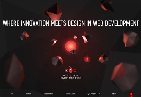web design parallax effect 20 best websites with parallax scrolling of 2013