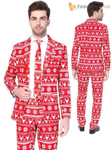 suit for christmas party mens tree suitmeister suit festive patterned fancy dress ebay