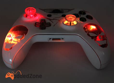 modded xbox one console quot skulls illuminating quot xbox one modded controller