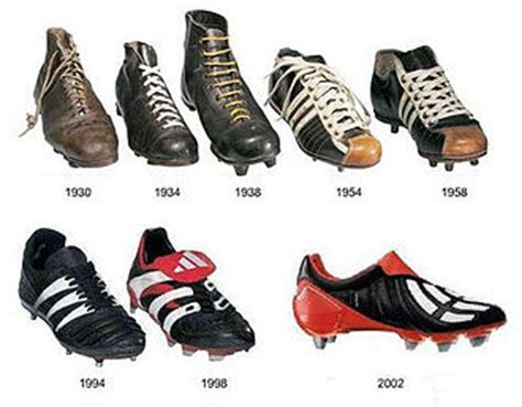 history of football shoes football boot