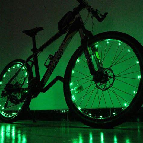 light waterproof cycling 1pcs 20 led colorful shining waterproof bicycle lights