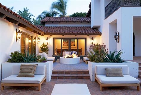 spanish style backyard 30 lovely mediterranean outdoor spaces designs