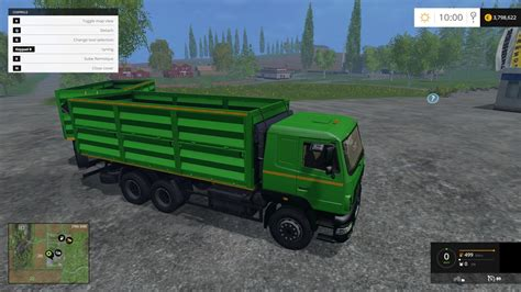 Truck Ls by Maz Truck Trailer V1 0 For Ls 15 Mod