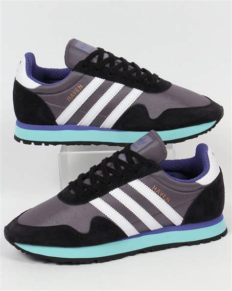 adidas haven adidas haven trainers trace grey white aqua originals