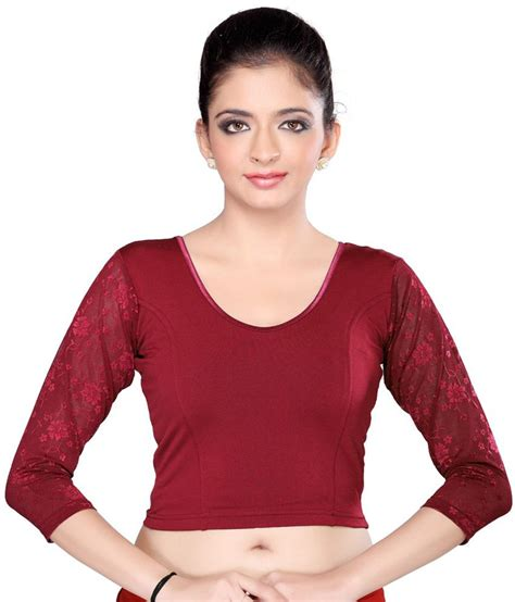 Jedar Blouse 2 N1 msm maroon brocade blouses buy msm maroon brocade