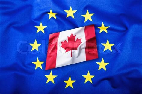 flags of the world with stars flags of the canada and the european union canada flag
