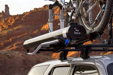 Road Shower by Road Shower Mounts On Roof Racks Delivers Water