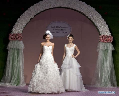 71st summer wedding service banquet expo held in hong kong s daily