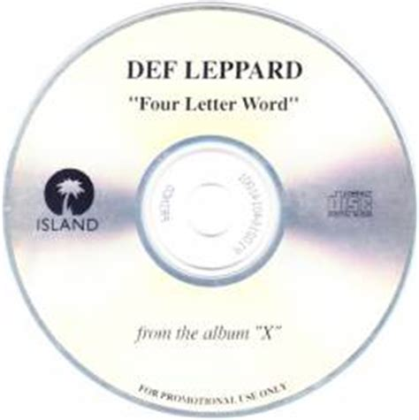 is a four letter word album cover def leppard four letter word single spirit of metal
